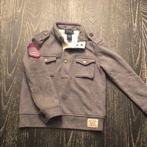 Polo Boy CLASSIC Pullover Gray USA